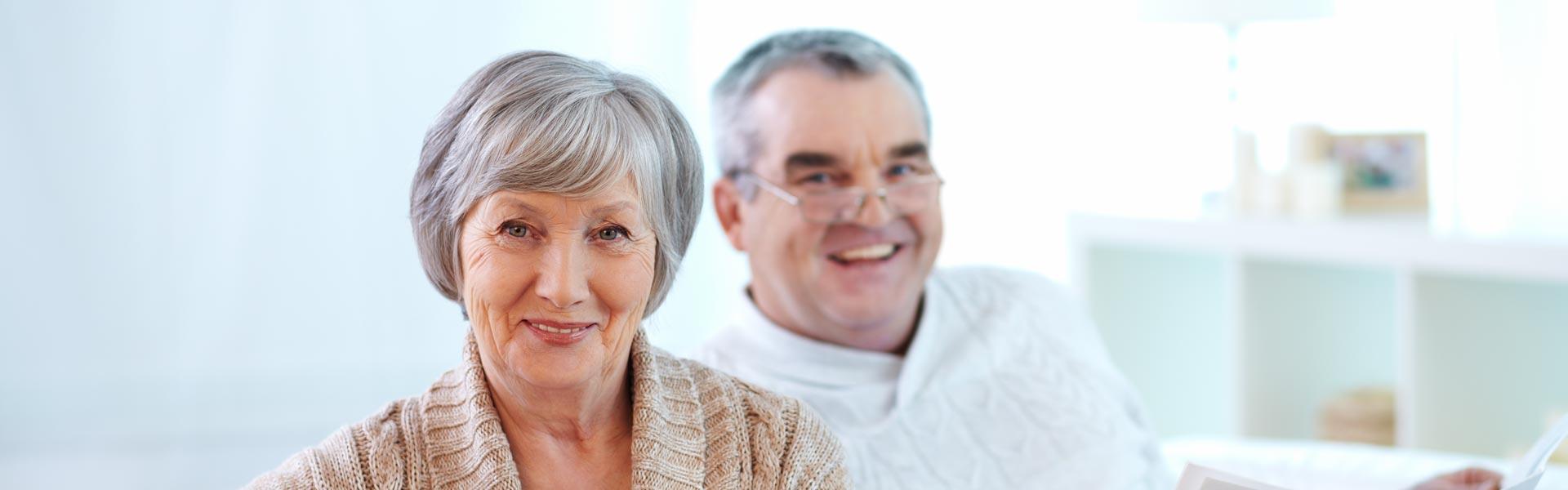 Frisur für Senioren
